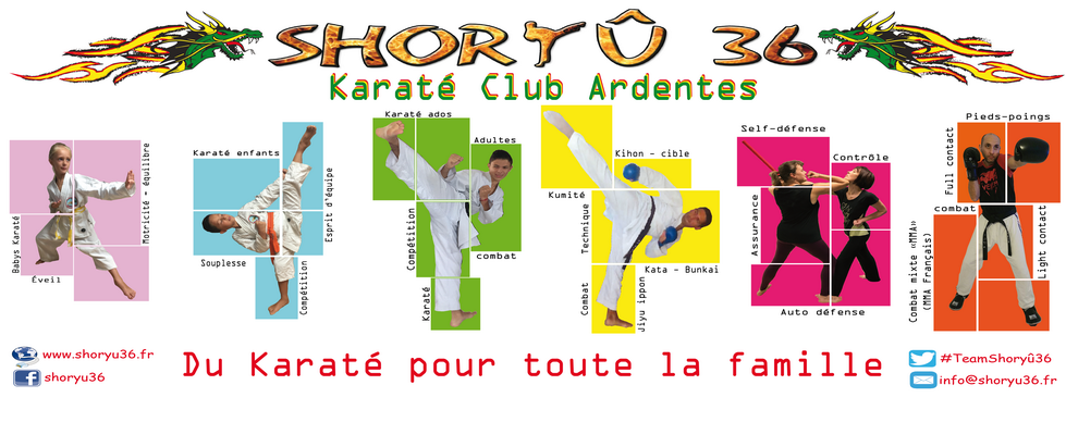 SHORYÛ36 - KARATÉ CLUB ARDENTES